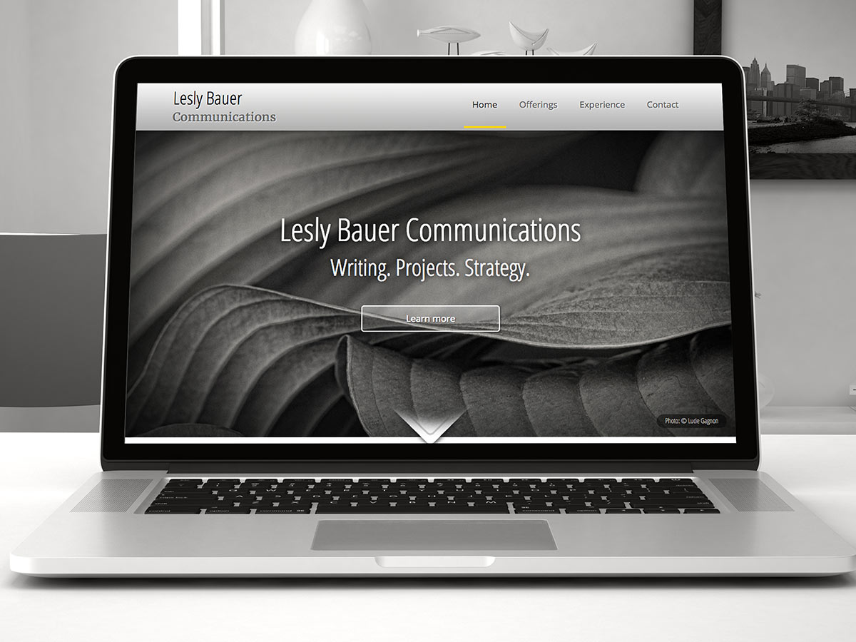 Responsive website design for communications business - by Fervr Design