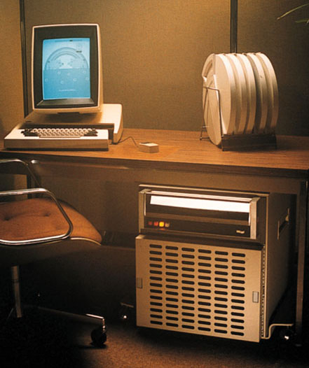The Xerox Alto had one of the first graphical user interfaces